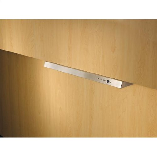 """30"""" Stainless Steel Built-In Range Hood with External Blower Options"""
