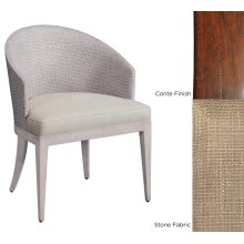 Stone Fabric Conte Woven Game Chair
