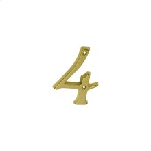 House Accessories  Classic House 4 - Bright Brass