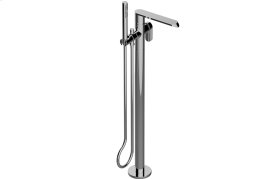 Phase Floor-Mounted Tub Filler - Rough and Trim