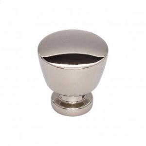 Allendale Knob 1 1/4 Inch - Polished Nickel
