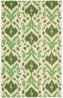 Siam Sia01 Ivgrn Rectangle Rug 5'6'' X 7'5''