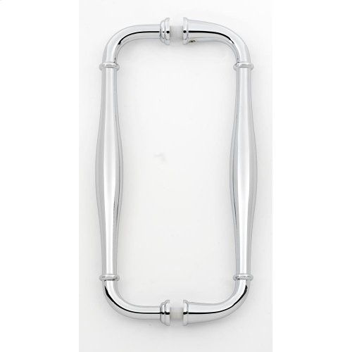 Charlie's Collection Back-to-Back Pull G726-8 - Polished Chrome
