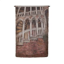 House With Ladder Tapestry 34-inch x 57-inch