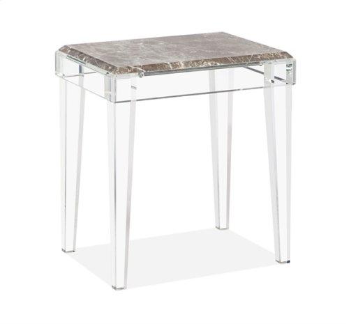 Amal Side Table - Italian Grey