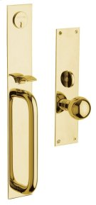 Lifetime Polished Brass San Diego Entrance Trim Product Image