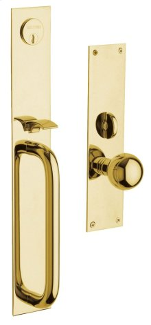 Lifetime Polished Brass San Diego Entrance Trim