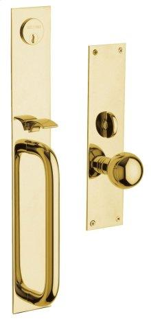 Lifetime Polished Brass San Diego Entrance Trim