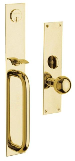 Lifetime Polished Brass San Diego Entrance Trim Product Image