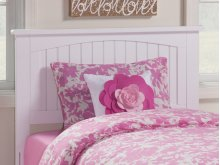 Nantucket Headboard Twin White