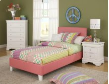 Youth PVC Bed : Sheri Youth Upholstered Bed