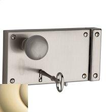 Lifetime Polished Brass 5634 Horizontal Rim Lock