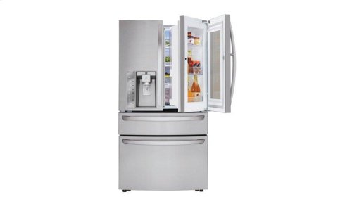 23 cu. ft. Smart wi-fi Enabled InstaView Door-in-Door® Refrigerator