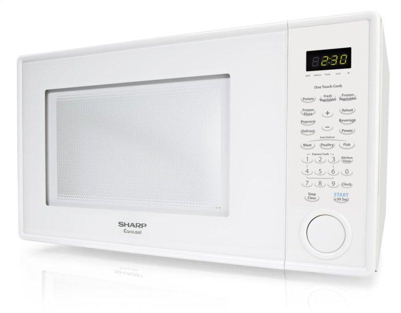 Countertop Microwave Small Footprint : Additional Sharp Carousel Countertop Microwave Oven 1.1 cu. ft. 1000W ...