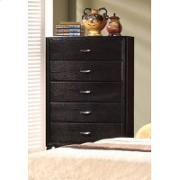 Nacey Dark Brown Five-drawer Chest Product Image