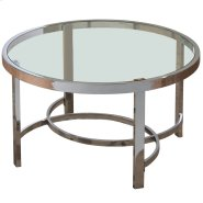 Strata Coffee Table in Chrome Product Image