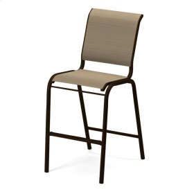 Reliance Contract Sling Bar Height Stacking Armless Cafe Chair