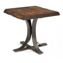 Farrier Lamp Table