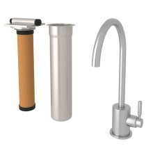 Lux C-Spout Stainless Steel Filter Faucet