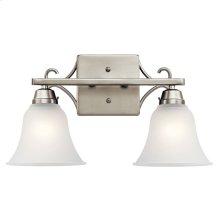 Bixler Collection Bixler 2 light Bath Light NI