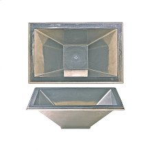 Quadra Sink - SK422 White Bronze Medium