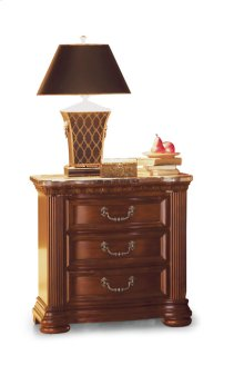 Granada Night Stand with Marble Top