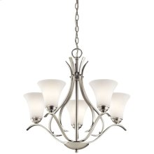 Keiran Collection Keiran 5 light Chandelier NI