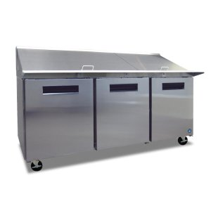 HoshizakiRefrigerator, Three Section Mega Top Prep Table
