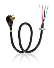 4' 4-Wire 40 amp Range Cord Product Image