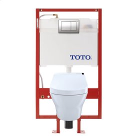 MH WASHLET®+ C200 Wall-Hung Toilet - 1.28 GPF & 0.9 GPF - Cotton