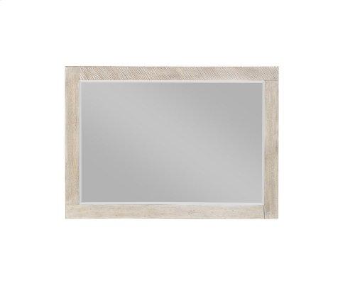 Emerald Home Nova Landscape Mirror-beveled Edge-sterling Gray Finish B700-24