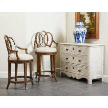 Thoroughbred Laurel Bachelor's Chest - White Gesso