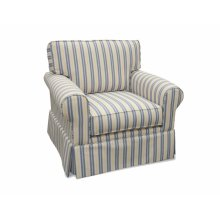 Upholstered Chair, Skirted.