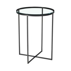 Misty Round Lamp Table