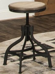 Sunset Trading Industrial Revolution Adjustable Chair or Stool - Sunset Trading Product Image