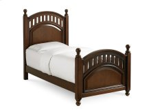 Manning Poster Footboard with Slats Twin