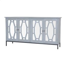 Presidio Cabinet II In Gravesend Grey - Large