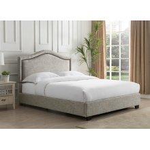 Grayling Platform Bed - Queen, Sandstone
