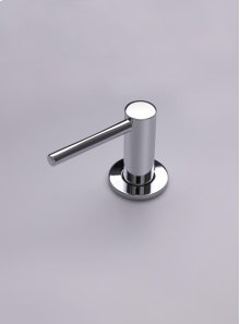Deck-mounted soap dispenser - Polished chrome