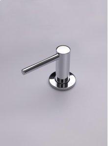 Deck-mounted soap dispenser - Polished chrome