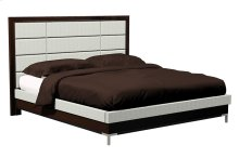 American Modern 12-Panel Upholstered Queen Bed