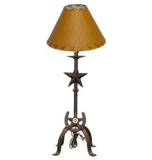 Cast Iron Table Lamp CAST006 with Shade