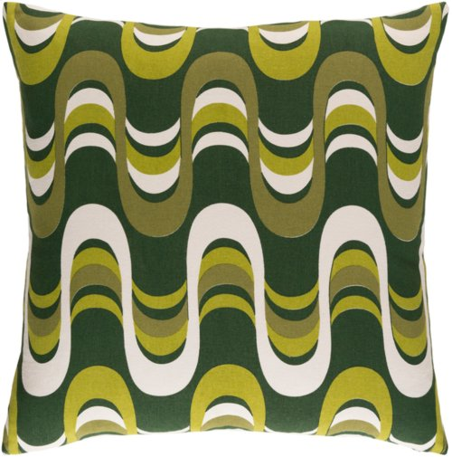 """Trudy TRUD-7141 18"""" x 18"""" Pillow Shell with Down Insert"""