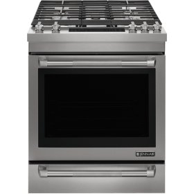 "Euro-Style 30"" Slide-In Gas Range, Pro Style Stainless"