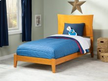 Metro Twin XL Bed in Caramel Latte