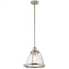 Silberne Collection Silberne 1 Light Pendant in Classic Pewter CLP