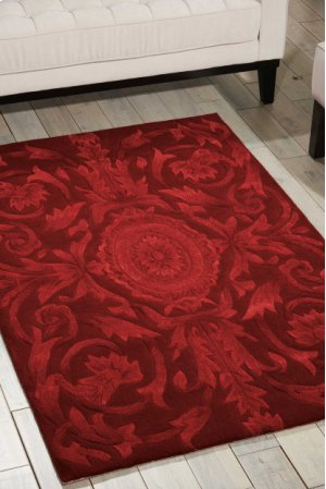 Moda Mod05 Ruby Rectangle Rug 8' X 11'