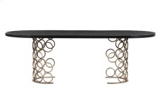Valentina Brass Dining Table Product Image
