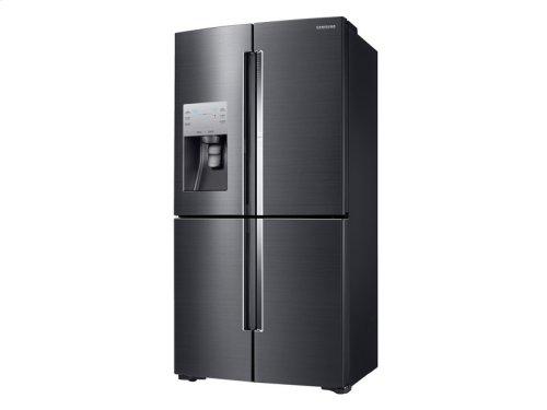 22 cu. ft. Counter Depth 4-Door Flex Food Showcase Refrigerator with FlexZone