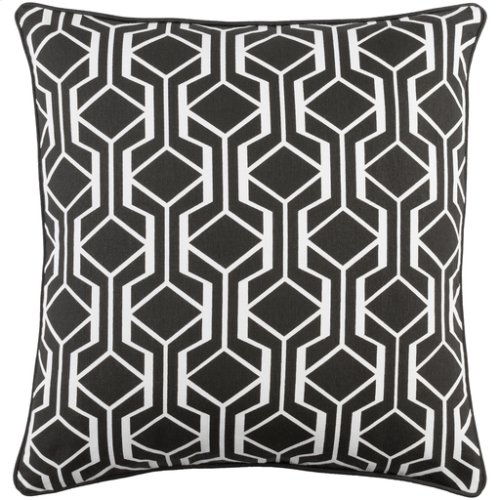"Inga INGA-7034 18"" x 18"" Pillow Shell with Down Insert"